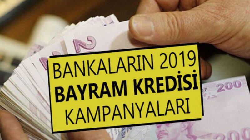 Bayram Kredisi Veren Bankalar